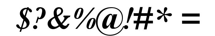Baskerville SemiBold Italic Font