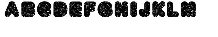 BAQ Metal Regular Font UPPERCASE
