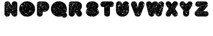 BAQ Metal Regular Font LOWERCASE