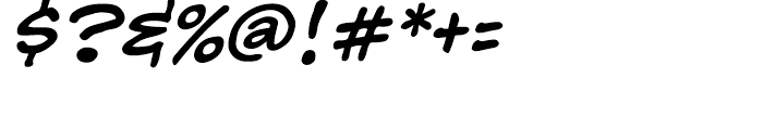 Babble Regular Font OTHER CHARS