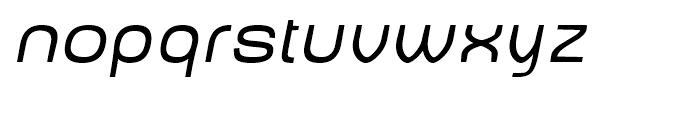 Baby Mine Plump Oblique Font LOWERCASE