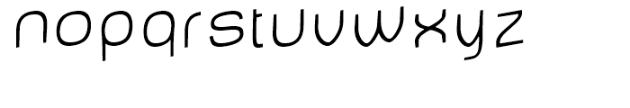 Baby Mine Thin Jumping Font LOWERCASE