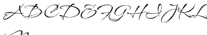 Babylonica Regular Font UPPERCASE
