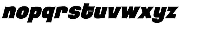Back Beat Heavy Italic Intl Font LOWERCASE
