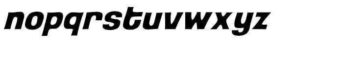 Back Beat Italic Intl Font LOWERCASE