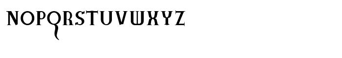 Bad Angel Volume Font UPPERCASE