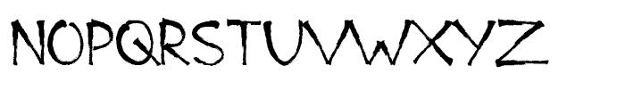 Bad Marker Regular Font UPPERCASE