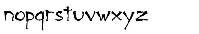 Bad Marker Regular Font LOWERCASE
