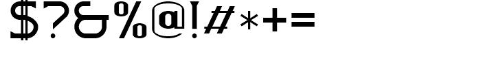 Badehaus Regular Font OTHER CHARS