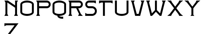 Badehaus Regular Font LOWERCASE