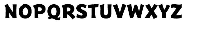 Badger ExtraBold Italic Font UPPERCASE