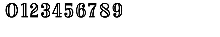 Baker Street Inline Font OTHER CHARS