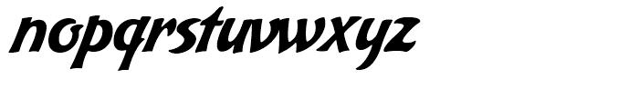 Bakery Script Regular Font LOWERCASE