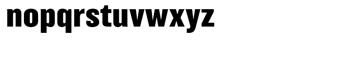Balboa Extra Bold Font LOWERCASE