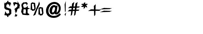 Balboa Regular Font OTHER CHARS