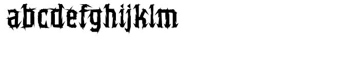 Balboa Regular Font LOWERCASE