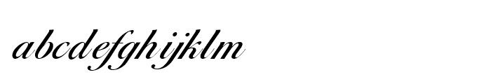 Balladeer Medium Font LOWERCASE