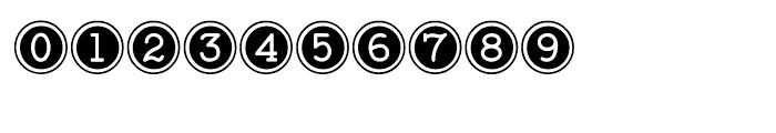 Baltimore Typewriter Keys Regular Font OTHER CHARS