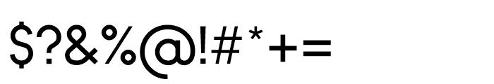 Bambino Regular Font OTHER CHARS