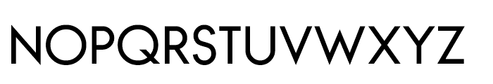 Bambino Regular Font UPPERCASE