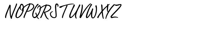 Bambus Light Font UPPERCASE