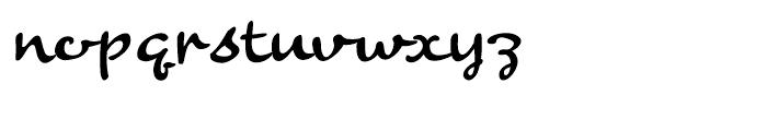 Banana Regular Font LOWERCASE