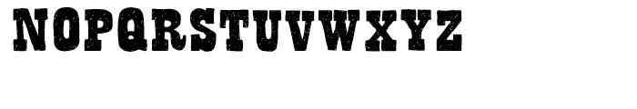 Bandoliers Regular Font UPPERCASE
