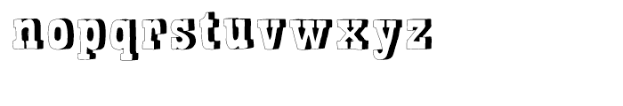 Bandoliers Rocky Font LOWERCASE