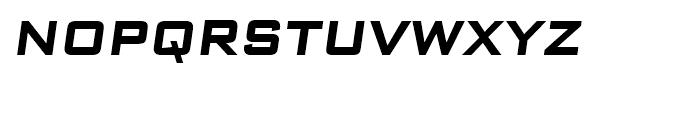 Bank Sans Caps EF EL Medium Oblique Font LOWERCASE