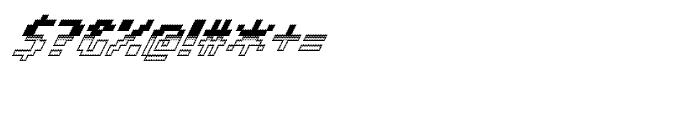 Banner 64 Regular Out Bot Font OTHER CHARS