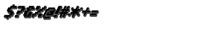 Banner 91 Black Font OTHER CHARS