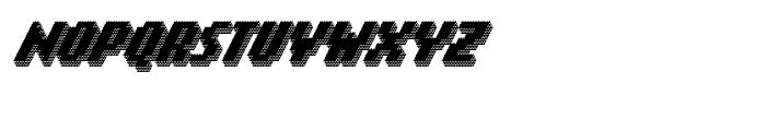 Banner 91 Black Font UPPERCASE