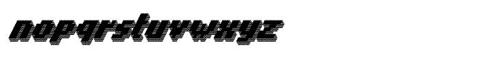Banner 91 Black Font LOWERCASE