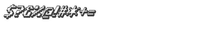 Banner 92 Black Outline Font OTHER CHARS