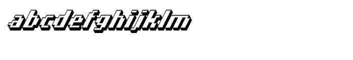 Banner 93 Black Outline Pro Font LOWERCASE