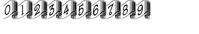 Banner Year NF Regular Font OTHER CHARS