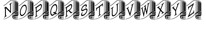 Banner Year NF Regular Font LOWERCASE