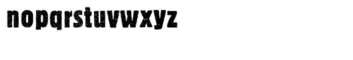 Bannertype 2 Font LOWERCASE