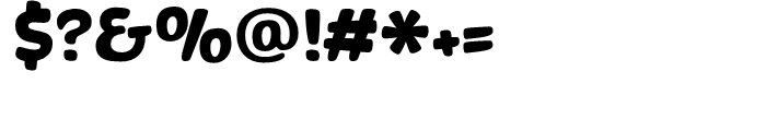 Banzai Bros Font OTHER CHARS