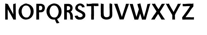 Barack Medium Font UPPERCASE