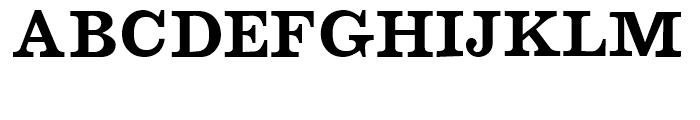 Barbera Fat Font UPPERCASE