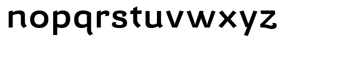 Barcis Expanded Demi Font LOWERCASE