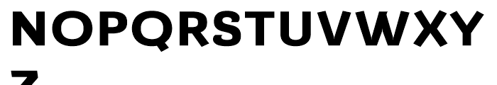 Barcis Expanded Extrabold Font UPPERCASE