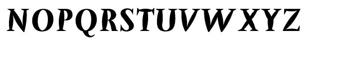 Barracuda Bold Font UPPERCASE