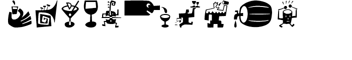 Bartalk Regular Font OTHER CHARS