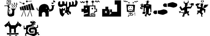 Bartalk Regular Font UPPERCASE