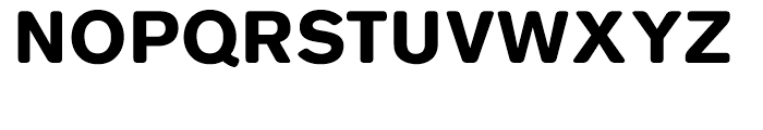 Basic Commercial Soft Rounded Black Font UPPERCASE