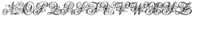 Basilissa Regular Font UPPERCASE