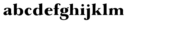 Baskerville AI Over Weight Font LOWERCASE