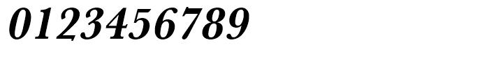 Baskerville Bold Narrow Oblique Font OTHER CHARS